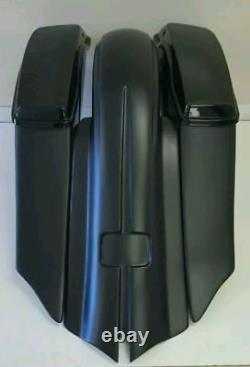 14-19 Bagger Extended 7 Stretched Saddlebags Fender Kit For Harley-davidson