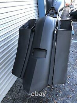 1997-2007 Harley Davidson Touring Custom Bagger Extended Kit Stretch Saddlebags