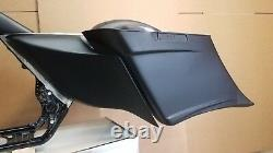 1997-2007 Harley Stretched Saddlebag, Rear Fender Bags Bagger And Side Covers
