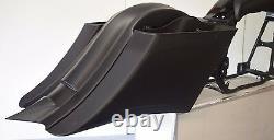 1997-2013 Bagger Extended 7 Stretched Saddlebags Fender Kit For Harley-davidson