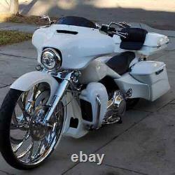 21 Inch El Kurwa Motorcycle Wheels Harley Bagger Road Street Glide King