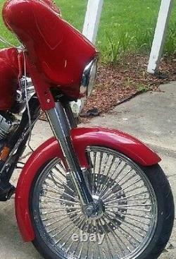21 Inch Wrap Harley Davidson Fiberglass Front Stretched Fender Bagger Flh