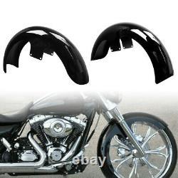 21 Wheel Wrap Front Fender For Harley Custom Bagger Touring Electra Road Glide
