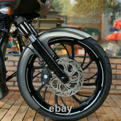 21 Wheel Wrap Front Fender Steel For Harley Touring Road Glibe Custom Bagger US