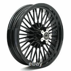 21x3.5 16x3.5 Fat Spoke Wheel Rims Set for Harley Touring Bagger Road King 84-08