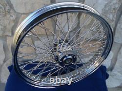 21x3.5 80 Spoke Kcint Dna Front Wheel For Harley Touring Bagger 84-99
