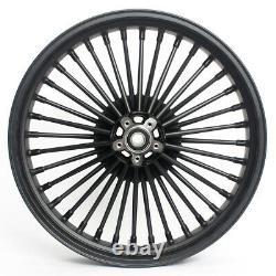 21x3.5 Fat Spoke Front Wheel Rim for Harley Touring Bagger FLHT FLHR FLTR 87-99