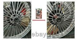 21x3.5 Fat Spoke Front Wheel Rim for Harley Touring Bagger Road King 1984-2007