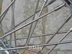 21x3.5 Kcint 60 Spoke Front Wheel 08 & Up Harley Bagger Road King Street Glide