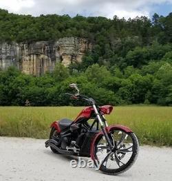 23 Inch Dirty Hooker Custom Motorcycle Wheel Harley Bagger Touring