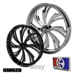 23 Inch Guinzu Custom Motorcycle Wheel Harley Bagger Touring