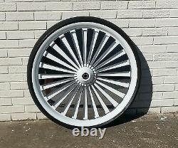 26 Custom floating wheel for Harley Davidson Bagger, Street Glide, Road Glide