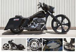 26 Inch Edge Custom Motorcycle Wheel Harley Bagger Touring