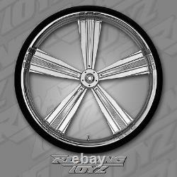 30 Inch Front End Wheel Tire Kit Harley Bagger Roadglide Road Glide Touring FLHR