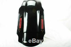 4 Bagger Stretched Extended Rear Fender Cover 4 Harley Touring Road King Glide
