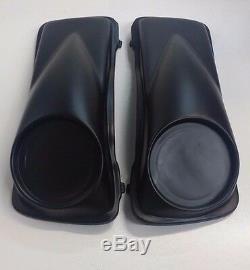 6.5 inch Speaker Lids 97-13 Harley Davidson Flh Fiberglass Bagger