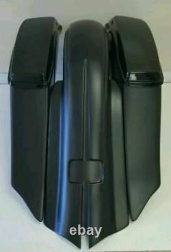 7 Harley Davidson Touring Stretched Saddlebags And Rear Fender Bagger Kit