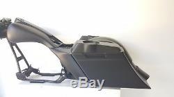 97-07 Harley Davidson Flh Bagger Touring Kit saddlebags fender tank side cover