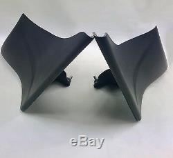 97-08 6 Stretched Side Covers FLH Touring Baggers Harley Davidson