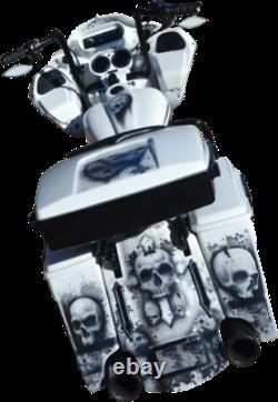 Accutronix Tribal LED Night Series saddlebag lights Harley Bagger Touring FLHX