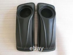 BAGGER SADDLEBAGS Speakers 6.5 Lids 4 Touring HARLEY ROAD KING GLIDE 93-13