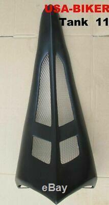 Bagger Custom Chin Spoiler 4 Harley Touring Road Street Electra Glide 09-15