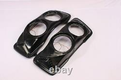 Bagger Saddlebag Lids Pair 4 X 6 1/2 Speakers Harley Touring Stretched Extended