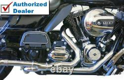 Bassani 2x2 Dual Headpipes Header Pipes Exhaust Harley 2009-2016 Touring Bagger
