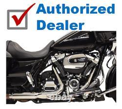Bassani 2x2 Dual Headpipes Header Pipes Exhaust Harley 2017-2021 Touring Bagger