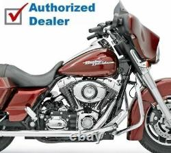 Bassani Chrome Bagger True Duals Exhaust Head Pipes Headers 95-08 Harley Touring
