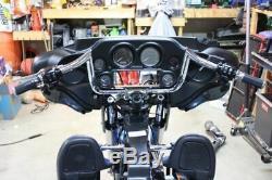 Bikers Choice Chrome 10 Prime Apes Bars Handlebars Harley Touring Bagger 96-17