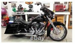 Bikers Choice Chrome 16 Prime Apes Apehangers Bars Harley Batwing Bagger Touring