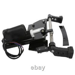 Black Motorcycle Electric Center Stand Fit For Harley Touring Bagger 2009-2016