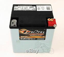 Deka AGM Absorbed Glass Mat Gel Battery Harley Touring Bagger Dresser 1997-2020