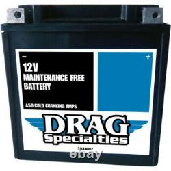 Drag AGM Absorbed Glass Mat Gel Battery Harley Touring Bagger Dresser 1997-2020