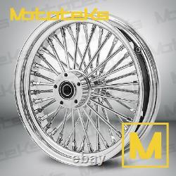 Fat Spoke Wheel 16x3.5 52 Rear Dna For Harley Touring Bagger Models 1984-2008