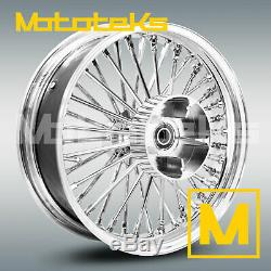 Fat Spoke Wheel 16x5.5 40 Rear Harley Touring Bagger Models 2009 Above Models