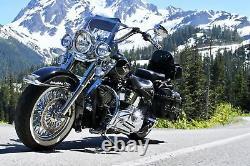 Fat Spoke Wheel 18x3.5 Rear For Harley Touring Bagger Models 2000-2008 New