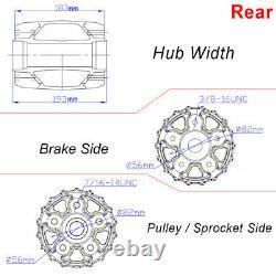 Fat Spoke Wheels 21x3.5 18x5.5 for Harley Bagger Road King Electra Glide 00-07