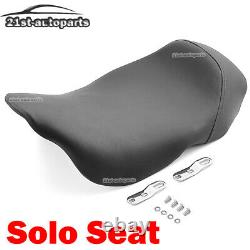 Front Solo Seat For 08-20 Harley Touring Electra Street Glide Bagger Dresser