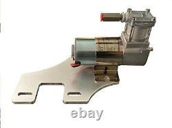 Harley Air Ride Kit Bagger 94-20 Uni Compressor Mount & Chrome Handlebar Switch