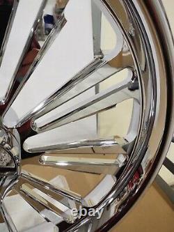 Harley Bagger Chrome Billet 21 Front Wheel Street Glide Road Glide Road King