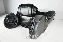 Harley Davidson Bagger Touring King Tour Pak Pack 6.5 Speaker Pods