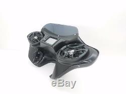 Harley Davidson Double Din Fairing Softail Bagger 6x9 Stereo complete Setup