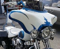 Harley Davidson Fairing Softail Heritage Deluxe Touring Bagger Motorcycle