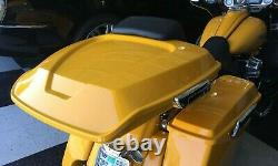 Harley Davidson Fiberglass Bagger Flaco Razor Fiberglass Tour Pack