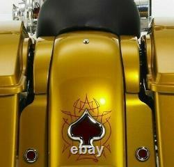 Harley Davidson Flh Fiberglass Upper Filler For 97-08 Bagger Street Road Electra