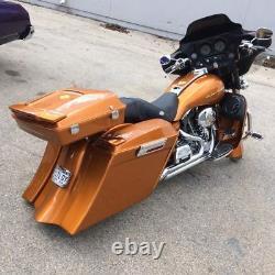 Harley Davidson Flh Saddlebags Fender Tank Cover Side Cover Bagger 97-07