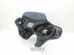 Harley Davidson GPS Double Din Fairing Softail Bagger 6x9 Stereo complete Setup