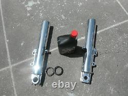 Harley Davidson Lower Legs Fork Slider Touring Bagger 2000-2013 Polished 41 MM